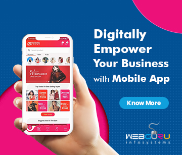 Mobile app development ad