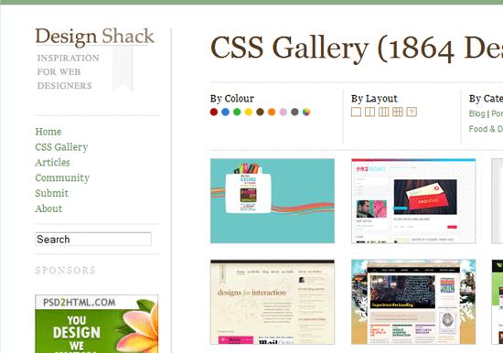 CSSelite com. Best Web Design Gallery To Fuel Your Creative Impulse