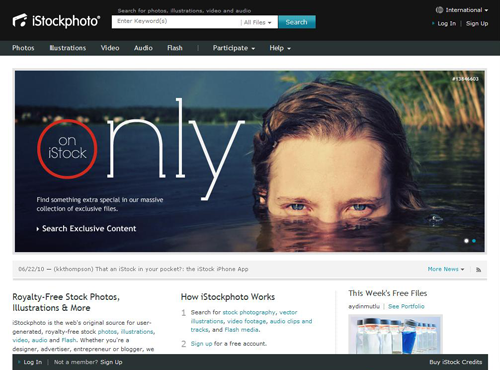 7 examples of free and paid stock photography websites