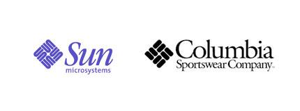 sun columbia logos