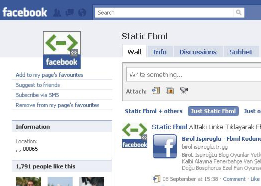 Static-FBML
