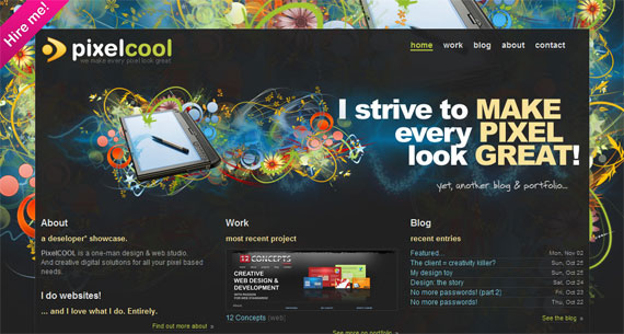 website header design latest trends and examples to get inspired - Great Website Design Ideas