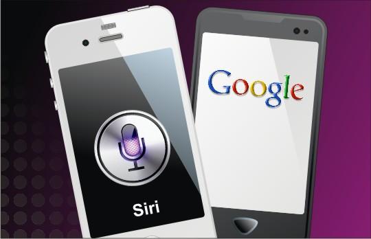 Google vs Apple Siri