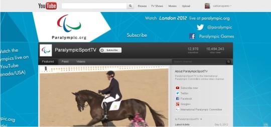 ParalympicSportTV YouTube