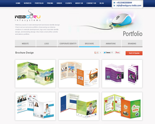 Brochure Design Portfolio