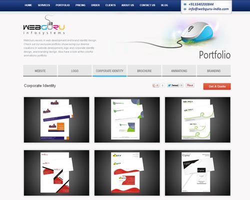 Corporate Identity Design Portfolio