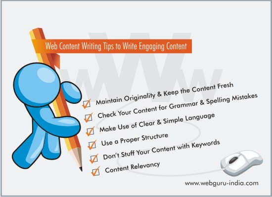 Engaging Web Content Writing