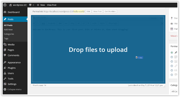 Updated Visual Editor