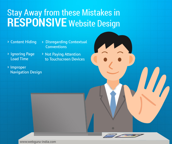 Mistakes in Responsive Website Design