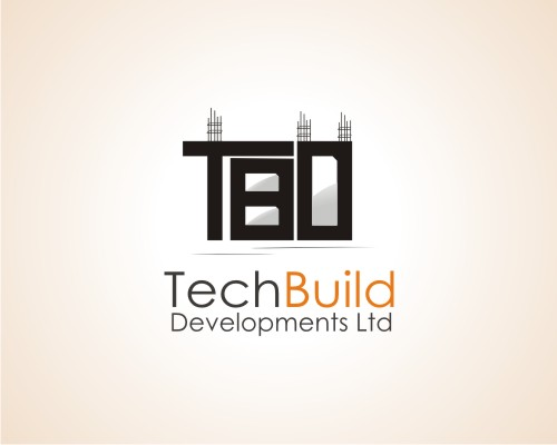 Typographic Logo - Tech Build Developments