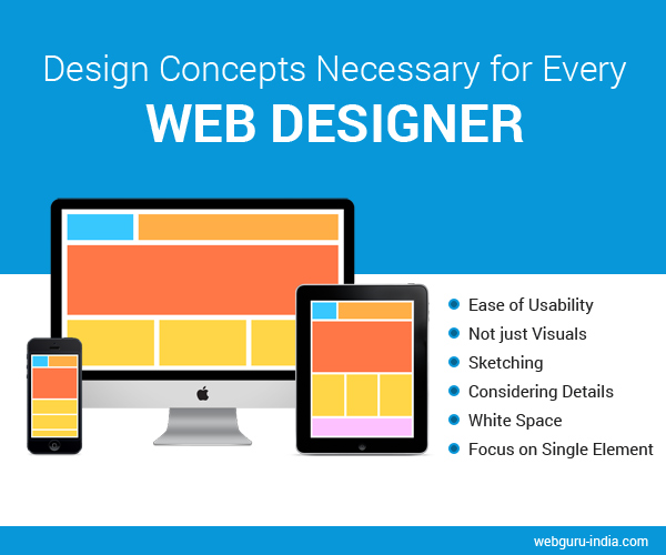 Design Concepts for every Web Designer