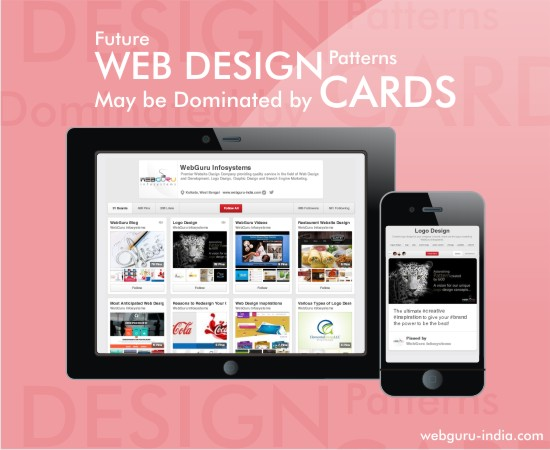 Future Web Design Patterns May be Dominated by Cards