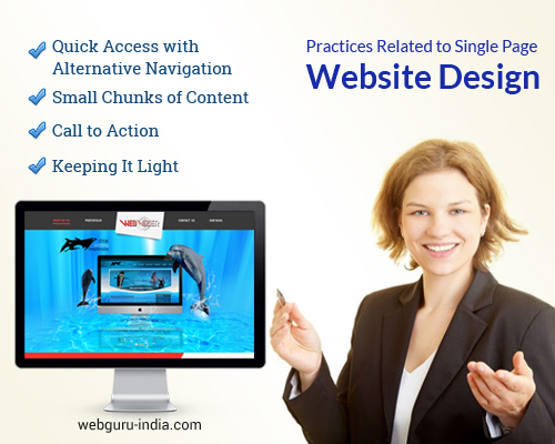 Practices Related to Single Website Design
