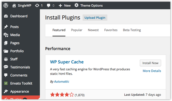 Easy Searching and Installation of Plug-ins