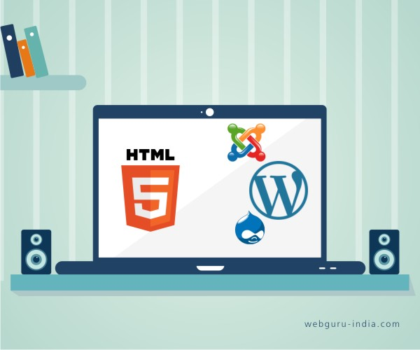 HTML or CMS