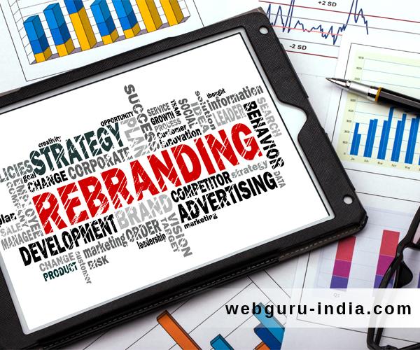 small business rebranding