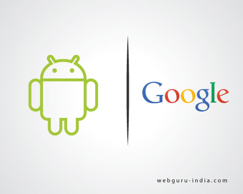 Android and Google logo design