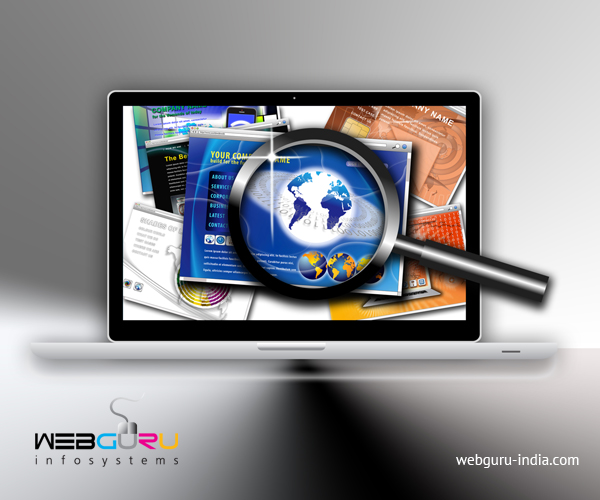 use of colours in website