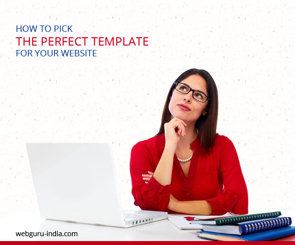 choose template for website