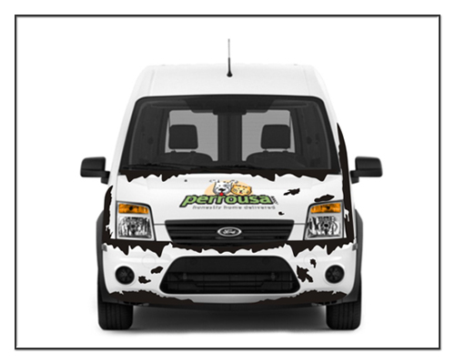 car-wrapping-white-car-front
