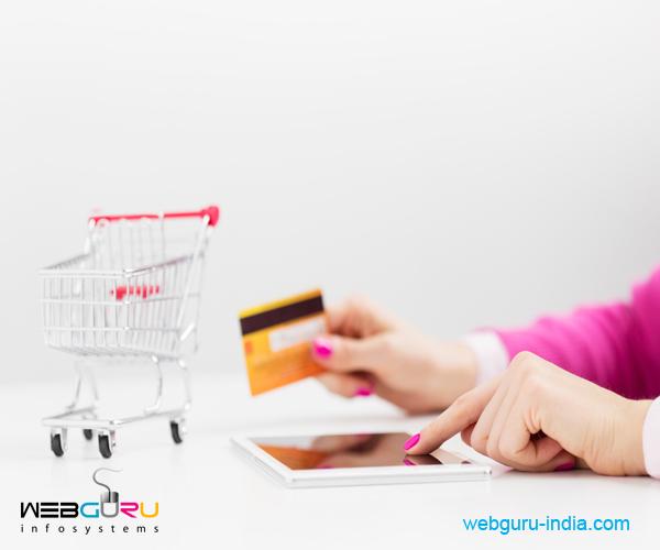 shopping cart website development