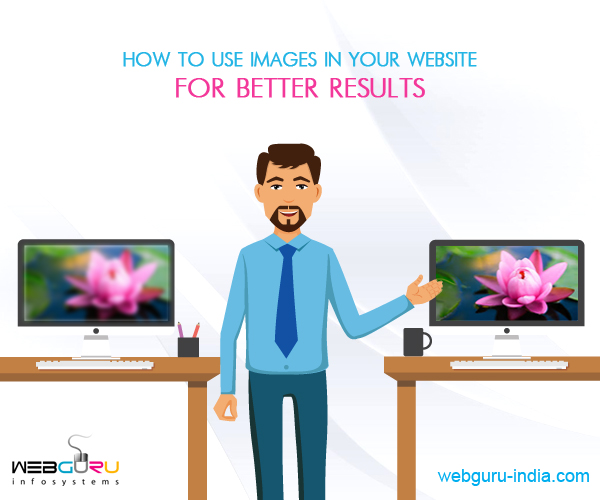 Use Images in Website