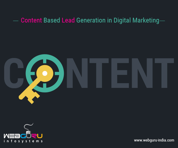 Content Based Lead Generation