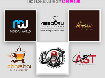 Take a Look at Our Recent Logo Designs