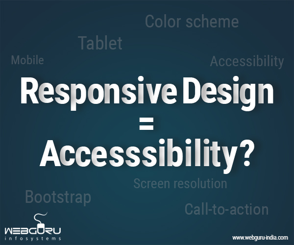 Responsive Website Design and Accessibility
