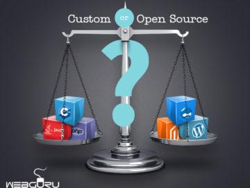 Custom or Open Source Platform