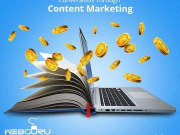 Conversions through Content Marketing