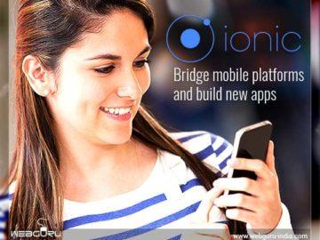 Mobile App Using Ionic Framework