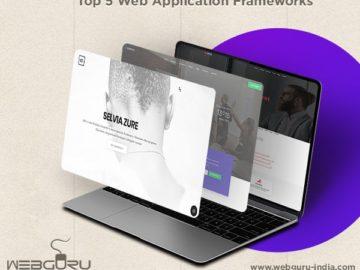 5 Web Application Frameworks 2018