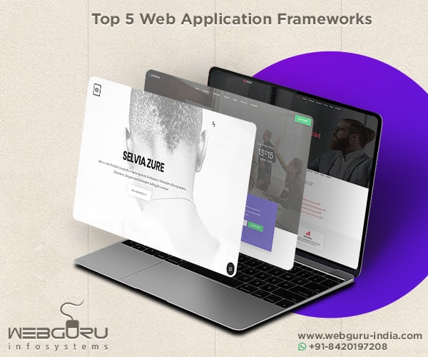 5 Web Application Frameworks 2018