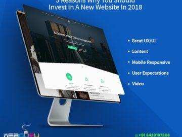 Website Design 2018