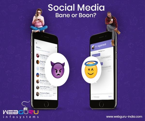 Social Media - A Bane or a Boon
