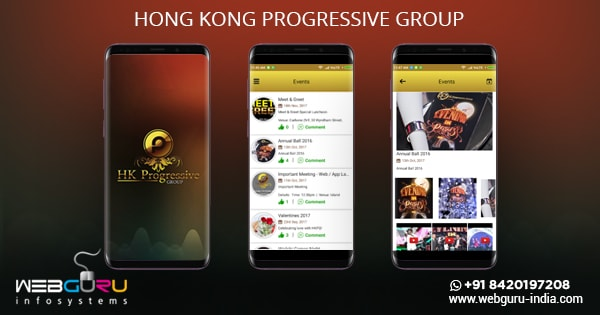 Hong Kong Progressive Mobile App