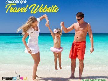 success for a travel website