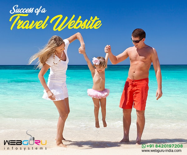 success for a travel website