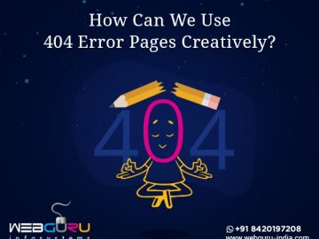 Use 404 Error Pages Creatively