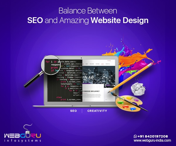 Balance Between SEO And Creative Website Design