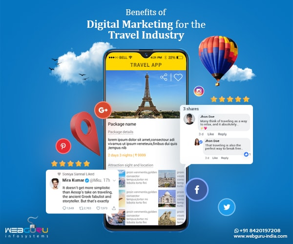 Digital Marketing For The Travel Industry
