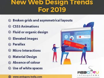 Website Design Trends Infographic