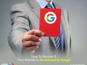 Deindexed by Google