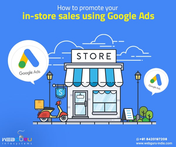 promote in-store sales using google ads