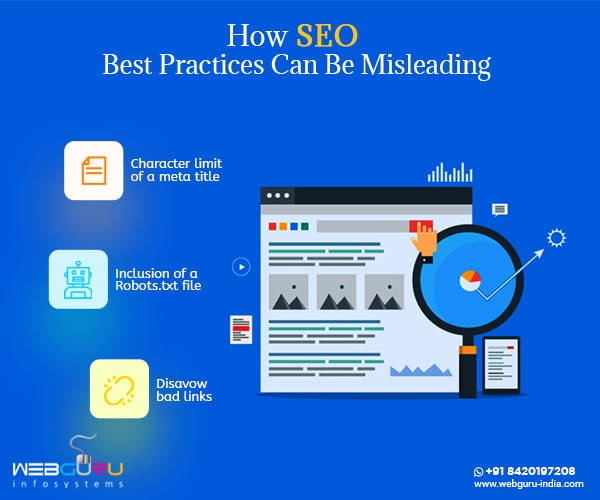SEO Best Practices Misleading